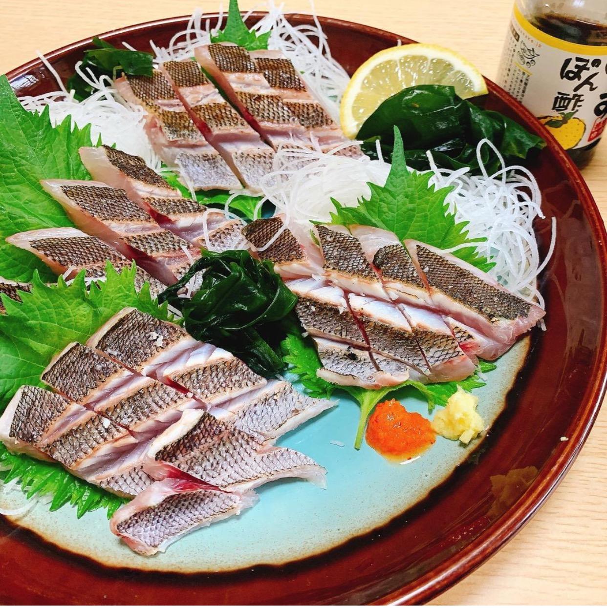 イサキの炙り刺身のアイキャッチ画像