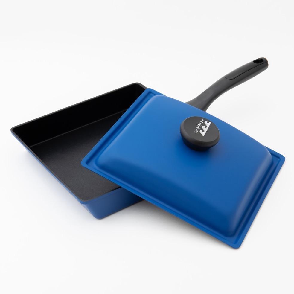 フタ付きワイドパン(玄海ブルー)のアイキャッチ画像