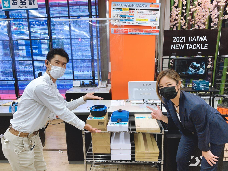 フィッシングマックスなんば店さんでFUCHIBITE商品の取り扱いが開始しました。のアイキャッチ画像