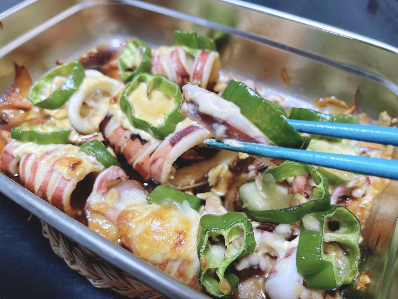 イカとマヨネーズのオーブン焼きのアイキャッチ画像