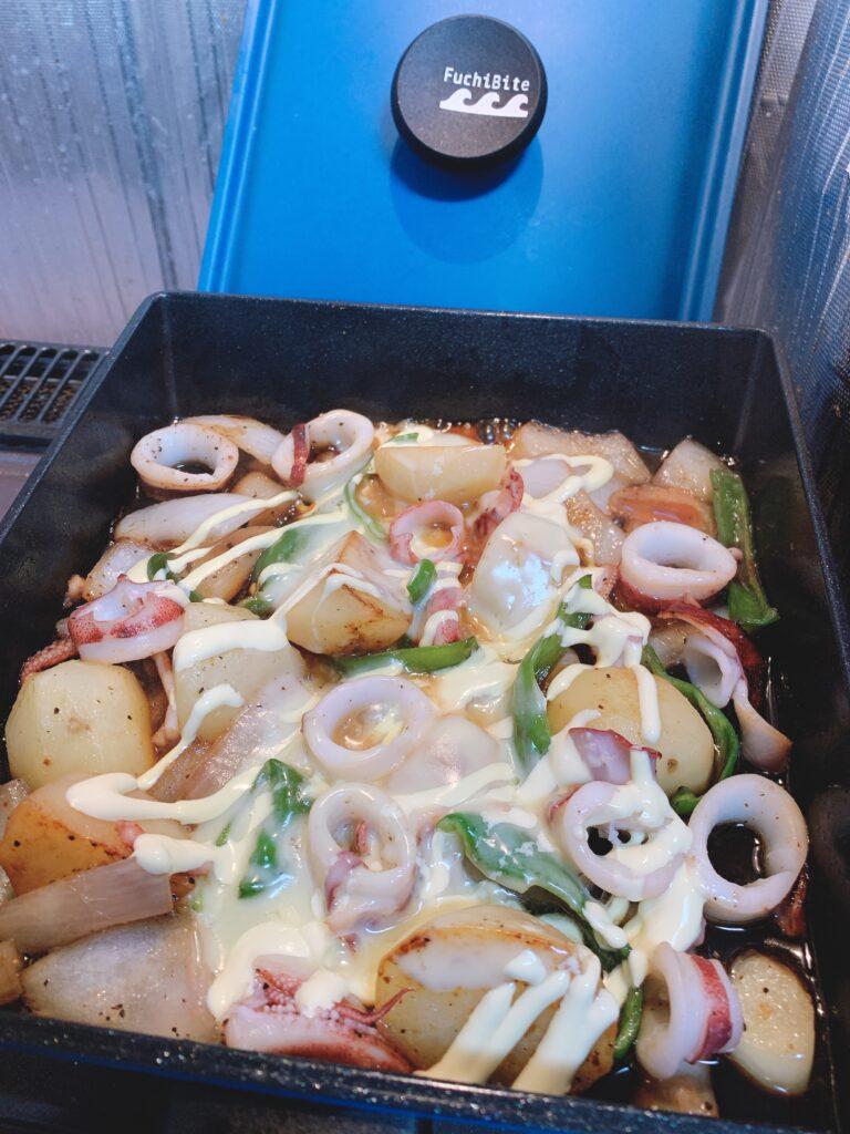 イカポテトチーズ焼きのアイキャッチ画像
